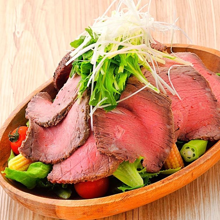 什錦厚切烤牛肉