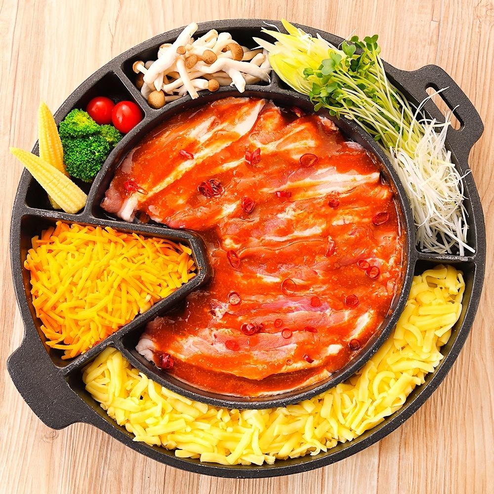 奶酪Samgyeopsal