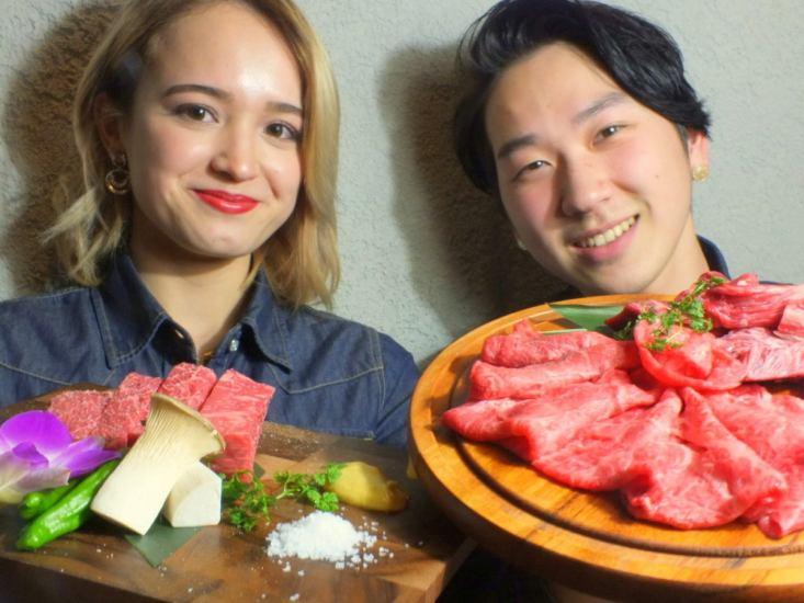 任意吃的宫崎牛肉♪全友可以吃的套餐女性2700日元(退出)/男性3,200日元(退出)〜