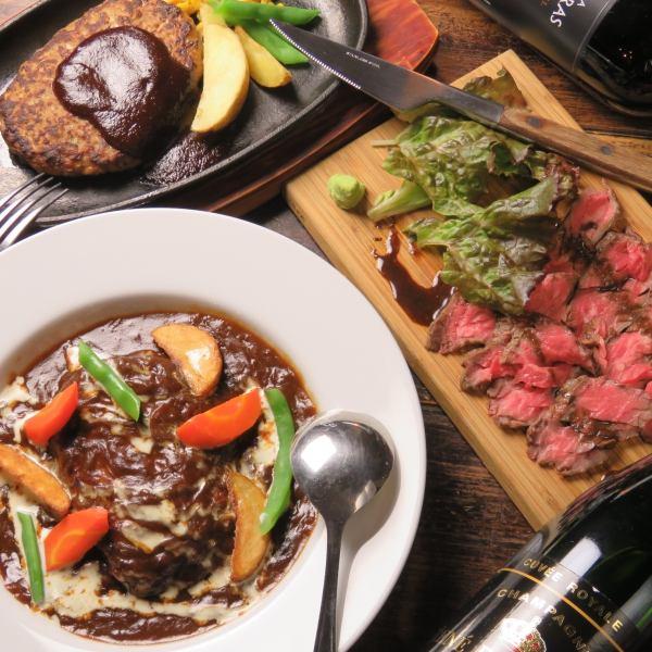 【自制】特色烤牛肉和炖汉堡