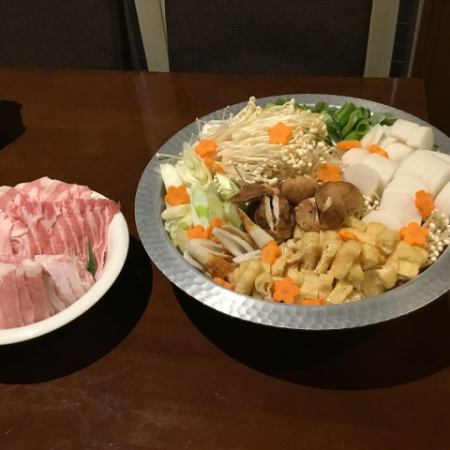 Banquet plan Nabe course <with all you can drink> Limited time only 3800 yen → 3500 yen