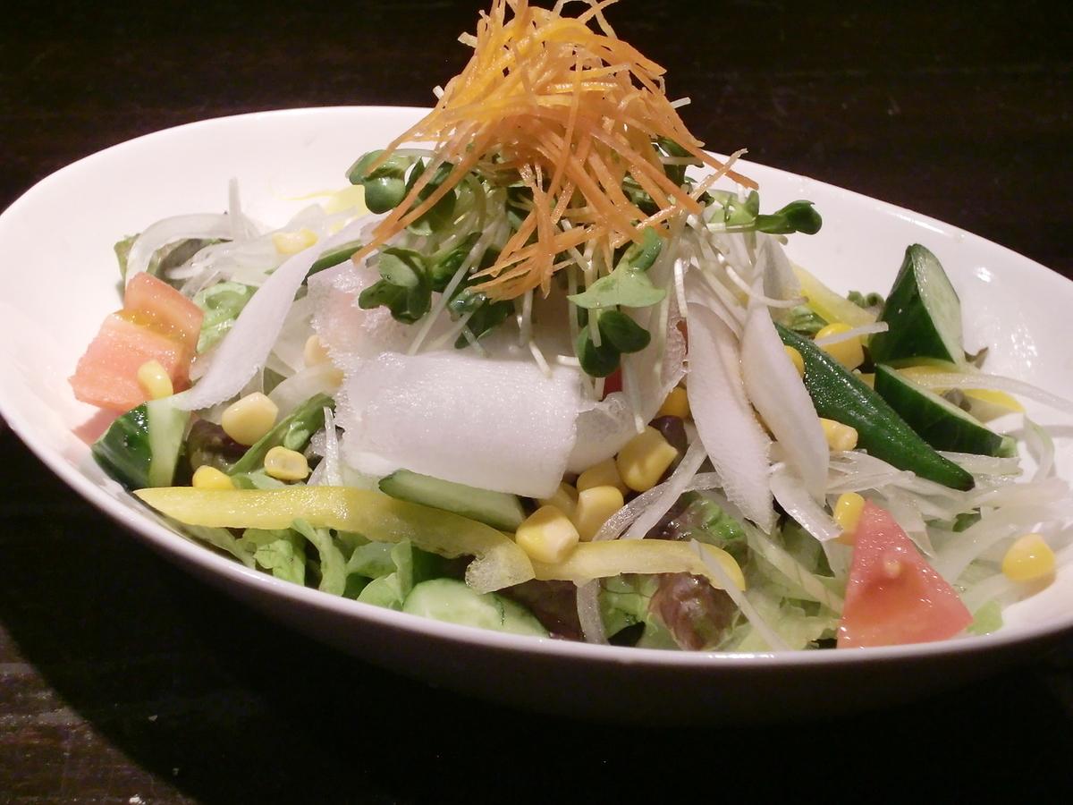 7 종 야채의 건강 샐러드