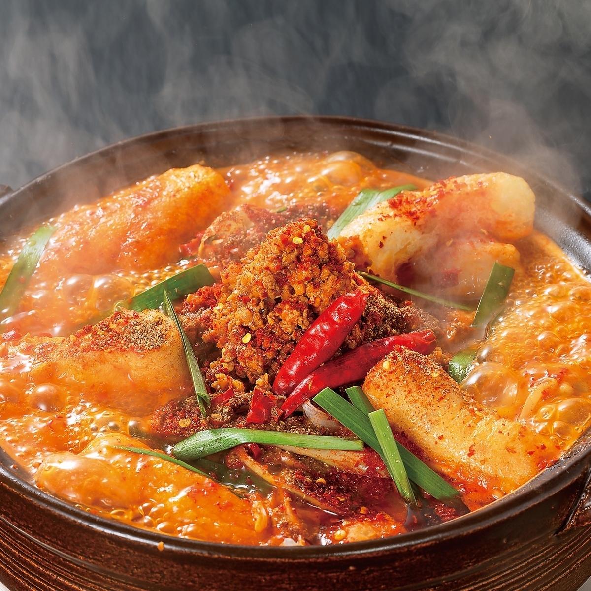麻辣赤から鍋(赤5番ベース)