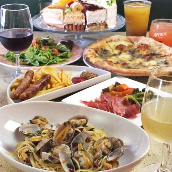 120 minutes steak with drinks all you can for steak Italian course 4500 yen