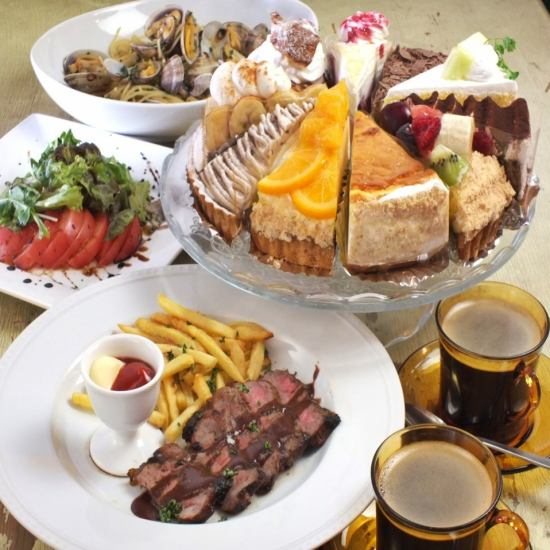Lunch Fulfillment ♪ Lunch Ristorante course of 1500 yen is popular