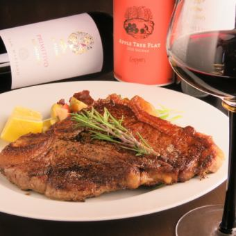 T - Bourne Steak course all 9 items 2.5 hour free all - you - can - drinks → 5000 yen 【Reservation required】