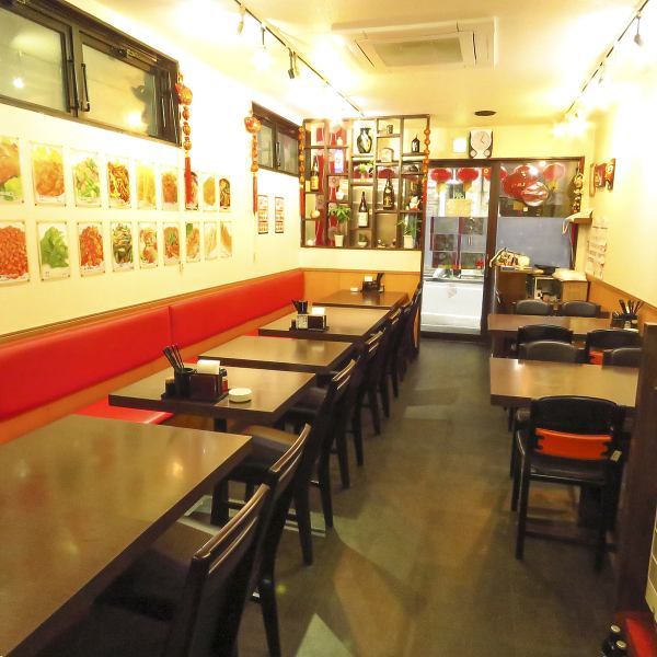 A large banquet where all the participants' faces can be seen is also available! Shinjuku authentic Chinese chinese which is useful for various usage scenes such as corporate banquet, etc. A course and B course prepared.About 11 items, what a 2000 yen ~! Enjoys a cheap course ♪