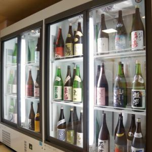 日本酒だけでなくビールも焼酎も飲み放題!持ち込み自由なので近くの黒門市場で好きな肴を持ち込んでもOK♪
