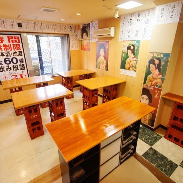 なんば駅、日本橋駅、黒門市場のすぐ近く!!裏なんばからもスグの好立地にオープン!立ち飲みスタイルの角打ち。2件目使いにもおすすめ!!セルフ式なのでお好きな日本酒、ビールをご自由にお取りください!!セルフ角打ちだから出来る、この種類とこの値段 好きなお酒を好きなだけ、堪能してください。