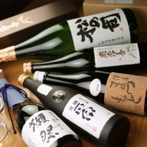 入手が困難な幻の日本酒も