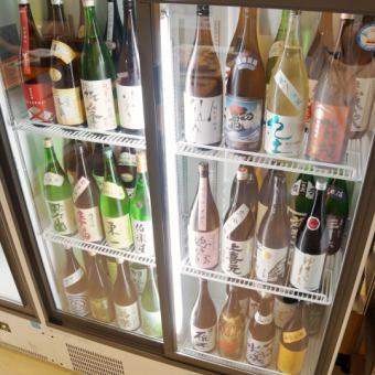 【時間無制限◎】☆セルフ☆日本酒など約60種以上のお酒飲み放題3500◎