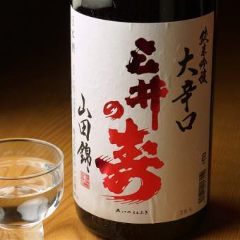 三井の寿 純米吟醸 +14 大辛口