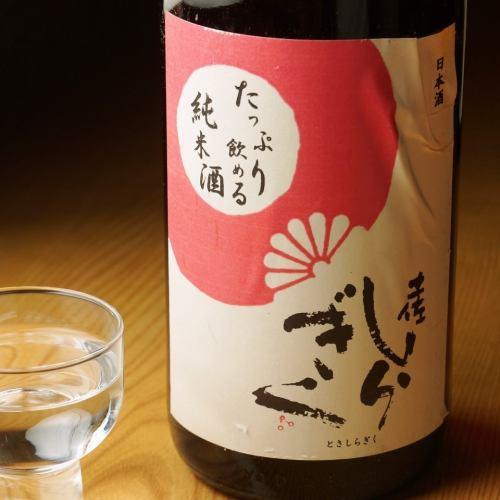 土佐しらぎく たっぷり飲める純米酒