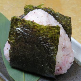 飯糰(李子/三文魚/明太子)(1個)