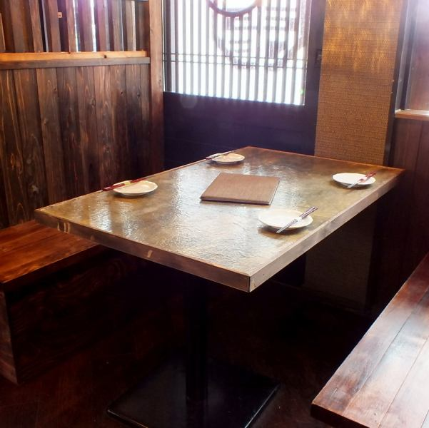 【Saku Drink · Table】 Recommended table seat for Saku on the way home from work.