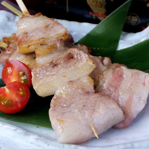 [Toraichi specialty] attention pork belly skewer!