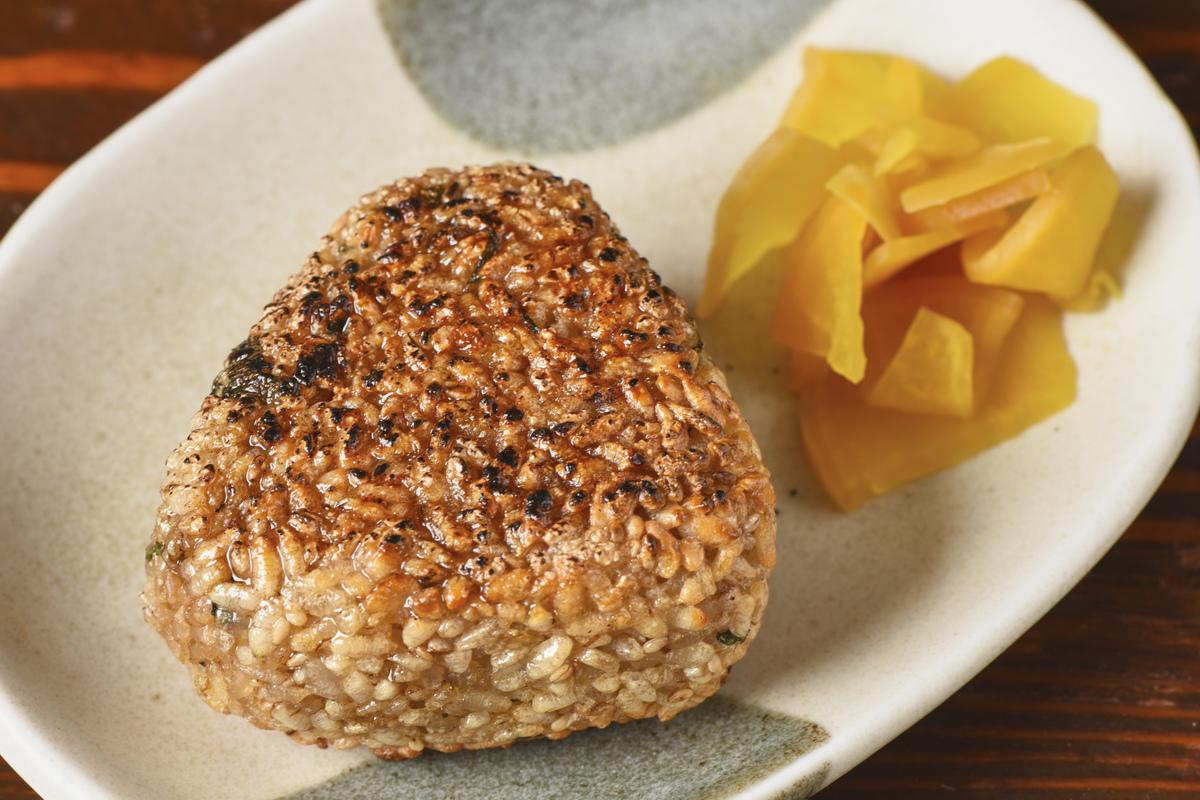 烤飯糰1塊(含oshiki)