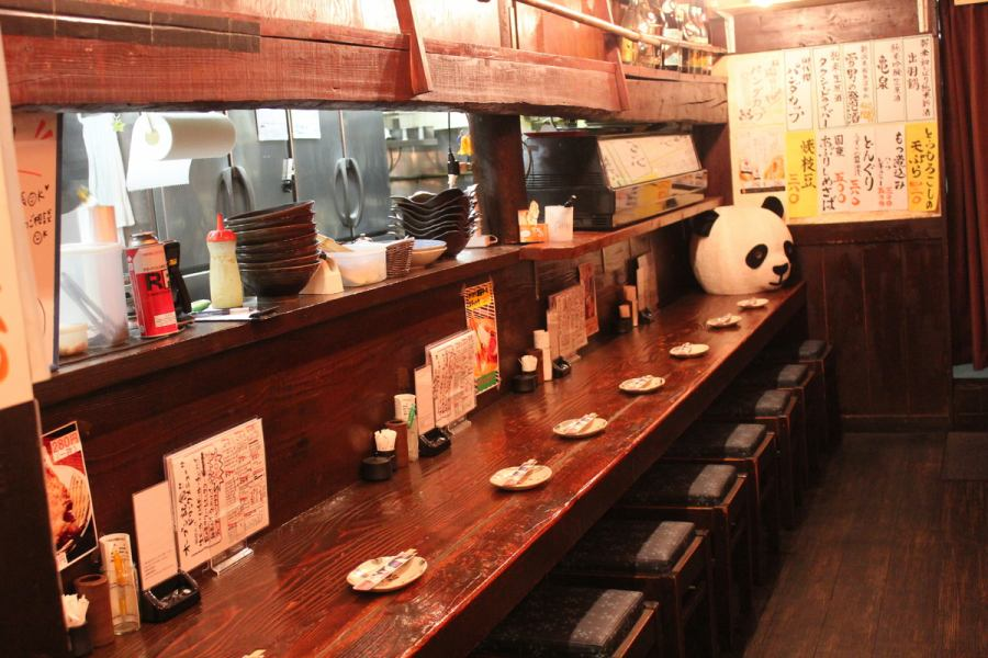 We also have a counter over the kitchen so if you would like to drink as much as you can enjoy the conversation with hospitality and hospitality and hospitality recommended ♪ Because it is also away from Osaki ☆, it has become a calm space ☆