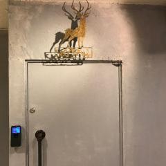 会員制BARの入り口。どこに個室が!?ここが入り口!?