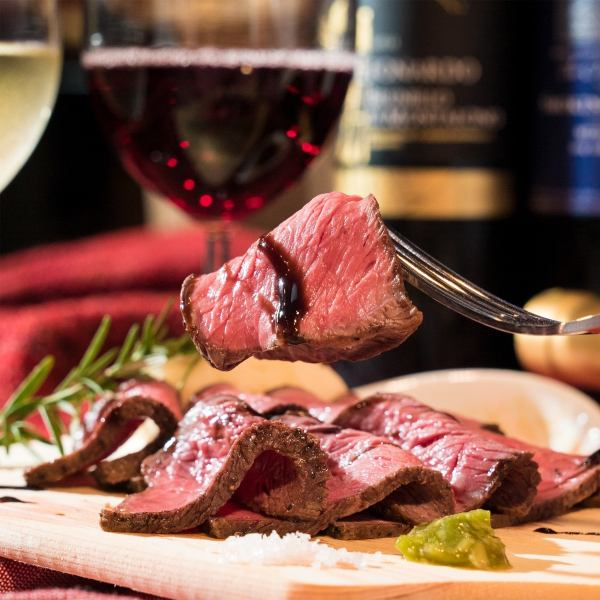 【Italian meat bar】 Appetizer · meat dish · pasta · dolce.Commitment manual preparation of all the items to be instantiated.