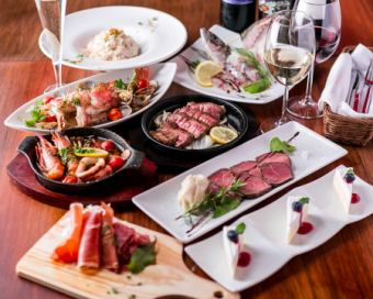 【3H with all you can drink 9 items 3980 yen】 Partenza course 5980 yen ⇒ 3980 yen