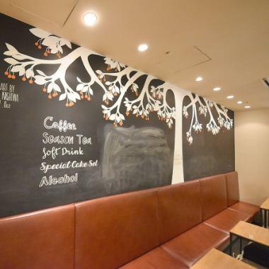 您的座位設置☆午餐按照人數是光明包含商店的陽光和友好的氣氛中的光◎