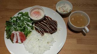 夏威夷米飯漢堡板