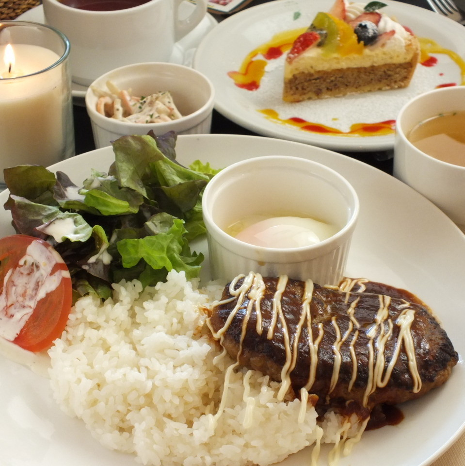 Night cafe set 1500 yen