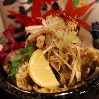 Nagoya Cochin chicken skin