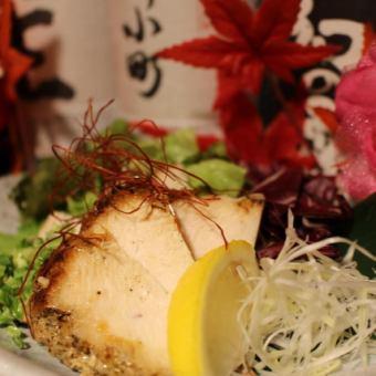 Homemade roast chicken of Oku Mikawa chicken
