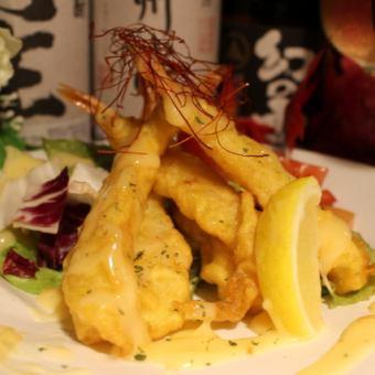 Shrimp mother mayonnaise