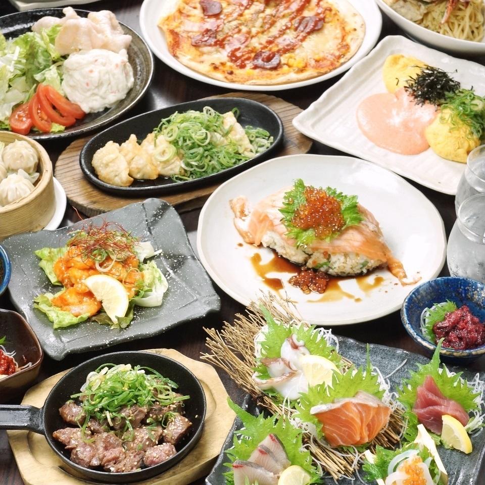 食べ飲み放題2800円(税抜)