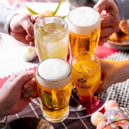 生ビールはヱビス生ビール★