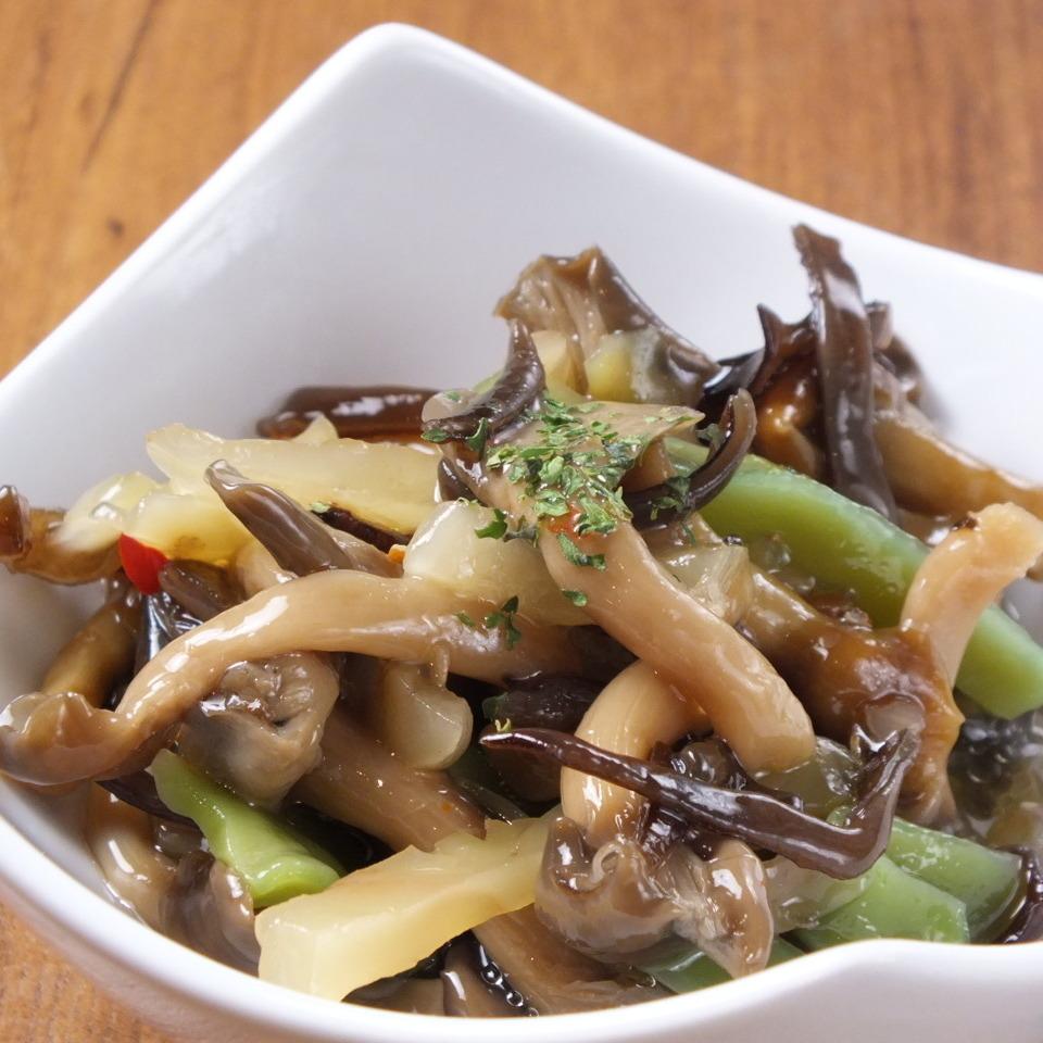 <Tapas>醃製蘑菇/甘藷薯條