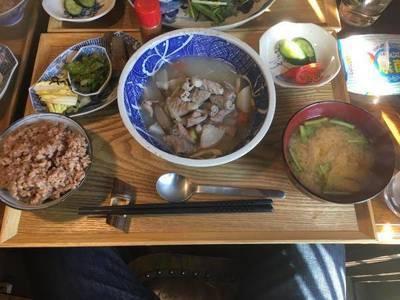 定食セット+ソフトドリンク