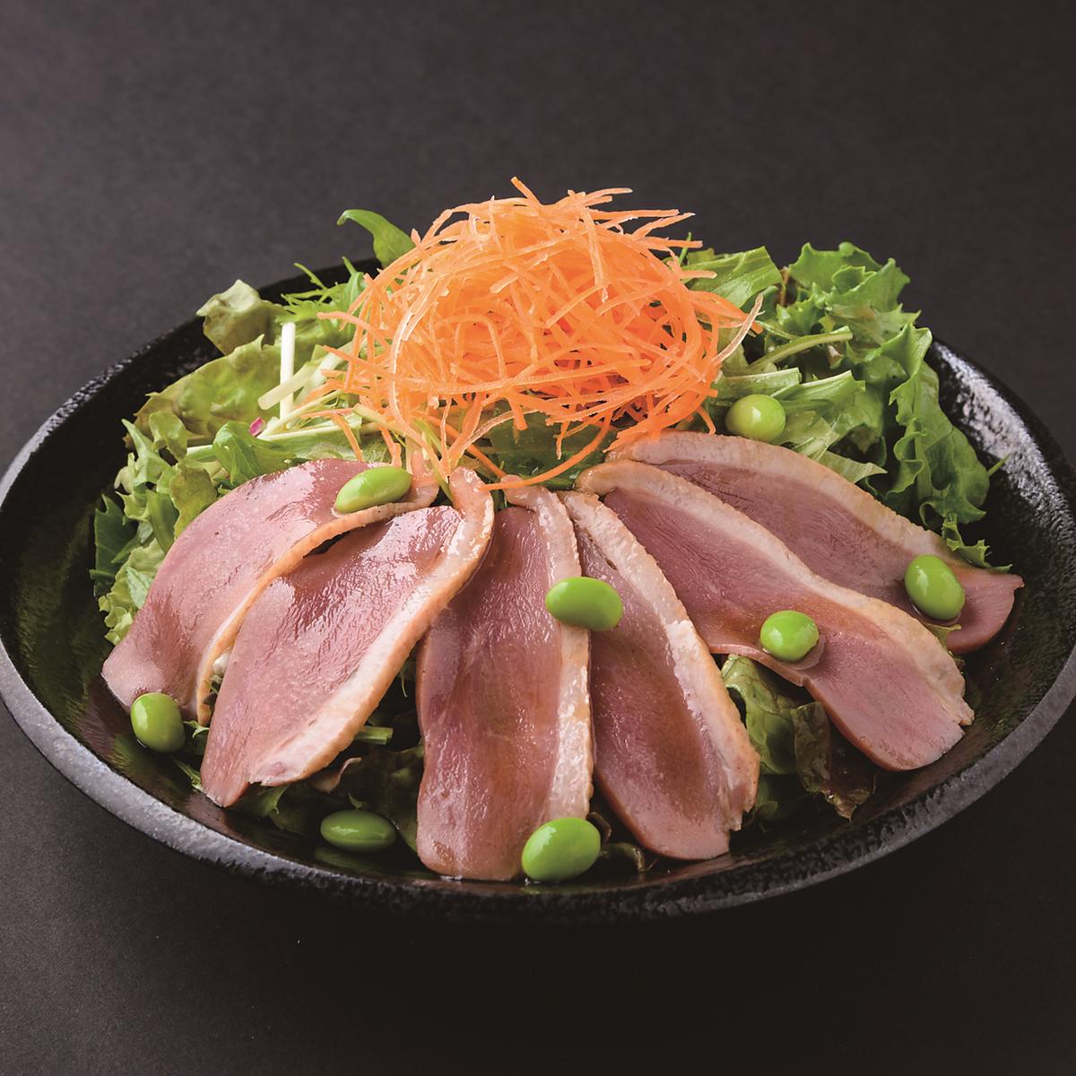 鴨と水菜のサラダ~山葵仕立て~