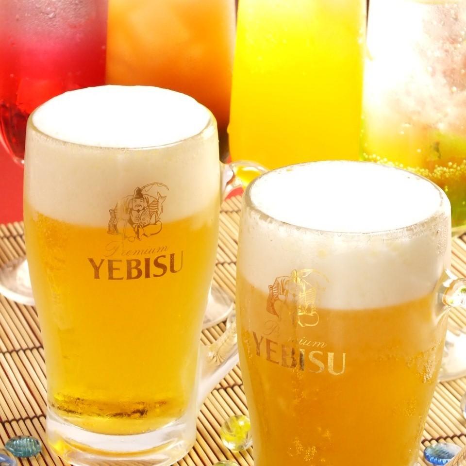 生ビールはヱビス★