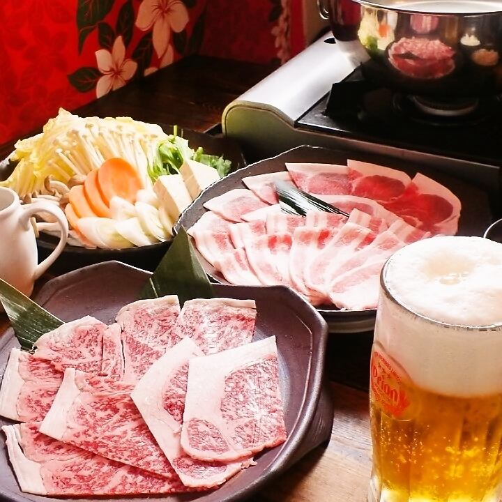 Beer is Orion ♪ Lots of courses to choose according to your budget!