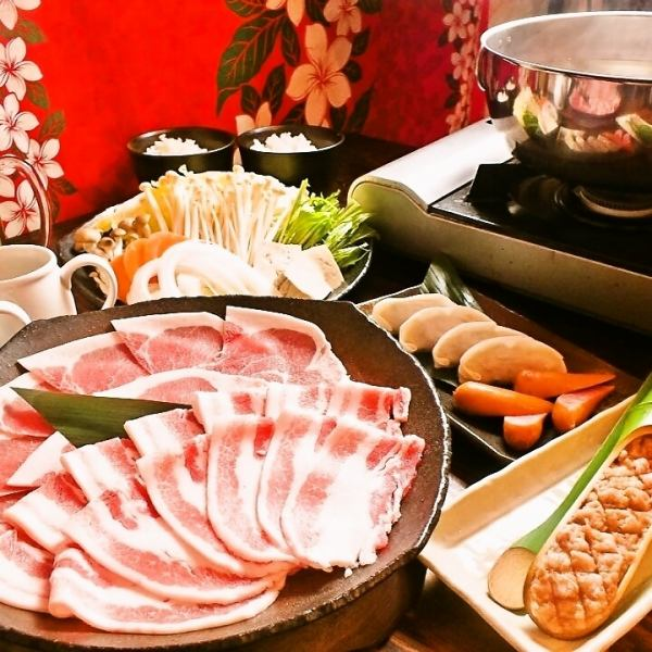 【Classic popularity!】 90 minutes all you can eat course (shabu-shabu · teppanyaki shabu)