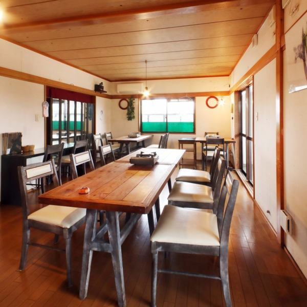 【Forgotten Annual Reservations Receiving!】 Second floor hall seats reserved for 10 people OK ♪ Relaxing meals are available with restlessness unique to a single house restaurant ♪ We also accept banquet meetings outside the hours.Please feel free to contact us ♪