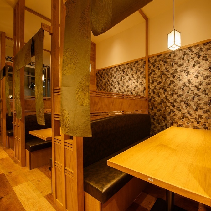 Private rooms that calm down slowly are very popular! It is recommended to make reservations early.