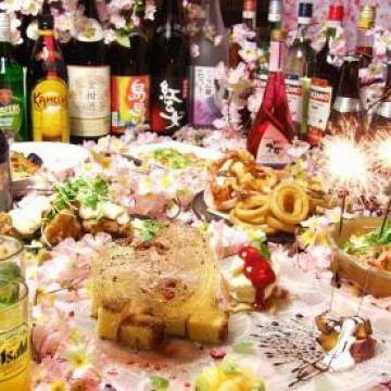 HappyBirthday Benefits ♪ Food and Beverage ⇒ 0 yen