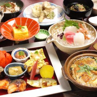 Kaiseki · Kaiseki for legal affairs ◇ One person / 6000 yen ~ 10000 yen (excluding tax) ◇