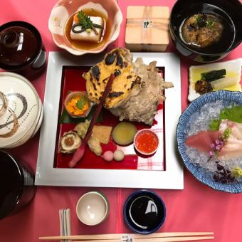 怀石料理12000日元日元18000 [请享受本赛季的奢侈]