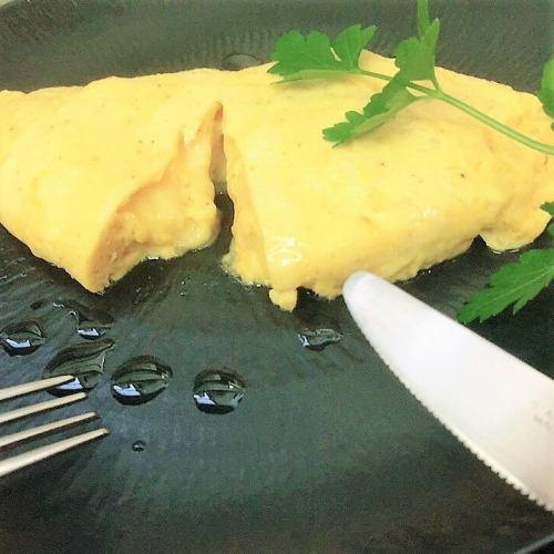 ふんわりチーズオムレツ(トリュフ風味)