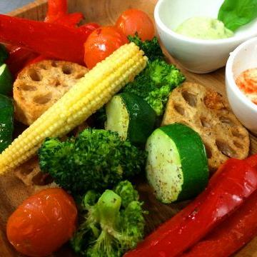 季節の野菜グリル