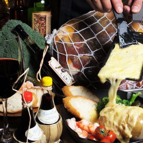 定番カフェメニューから本格イタリアンまで楽しめる♪