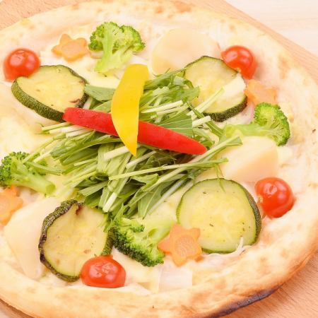 """""""健康PIZZA""""蔬菜蔬菜風格PIZZA"""