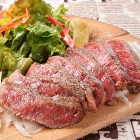 """◆特别◆优质肉类火锅和牛肉Harami牛排""""3小时喝""""9项3980日元"""