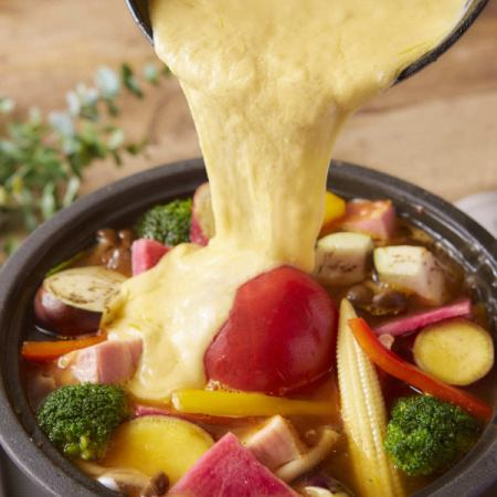 まるごとトマトの豆乳鍋